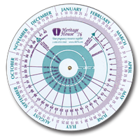 graphic about Pregnancy Wheel Printable known as Uncomplicated and Apparent II Being pregnant Exams